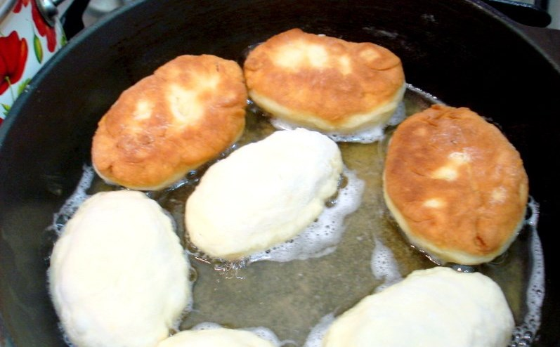 Быстрые пирожки с капустой в духовке пошаговый рецепт с фото сухие дрожжи