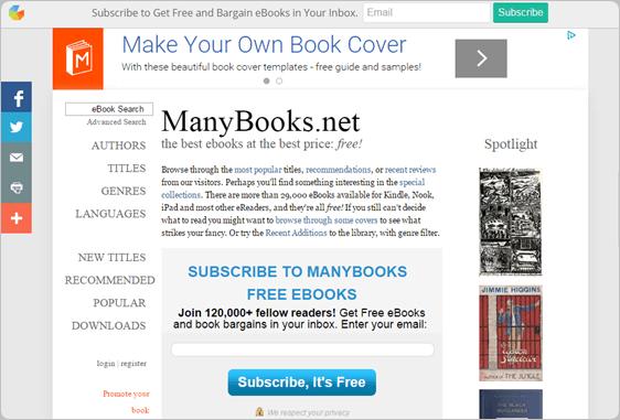Kostenlose eBooks – Gratis-Sammlungen und