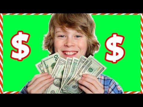 Как быстро заработать денег в 11 лет