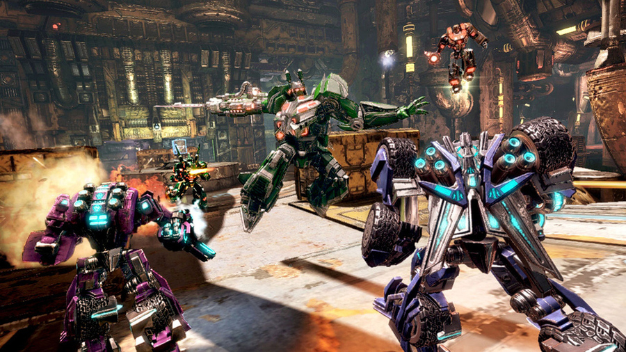 Трансформеры: Битва за Кибертрон Transformers