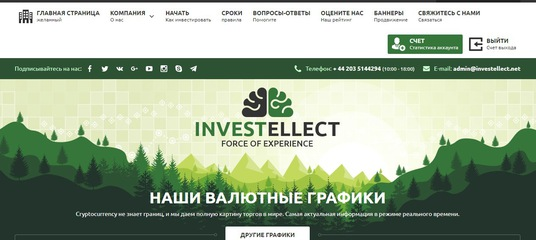Hyip monitor investellect