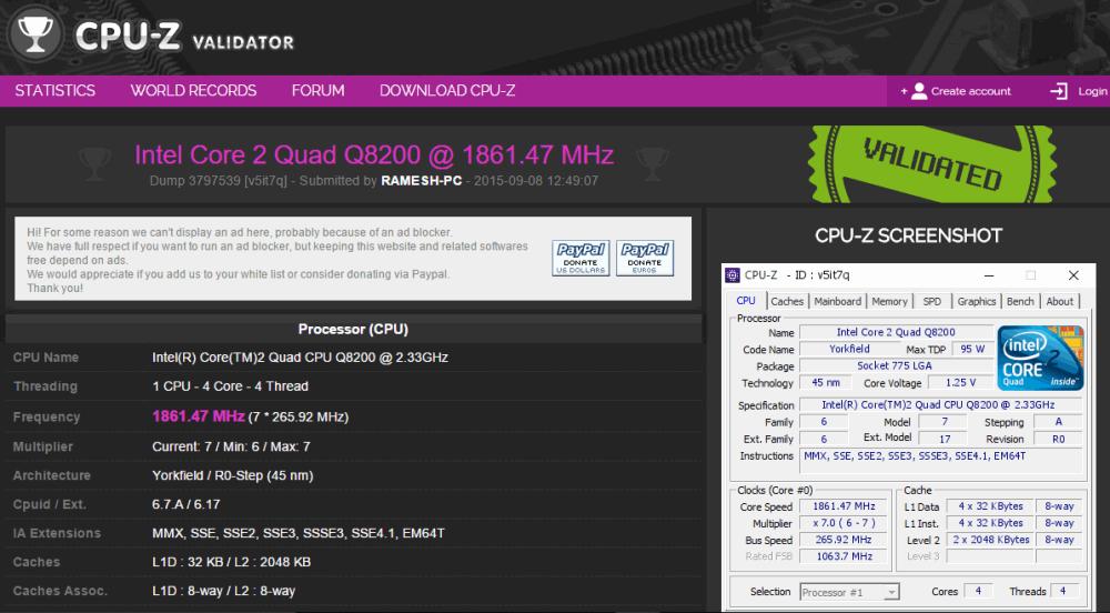 Download CPU-Z - TechPowerUp