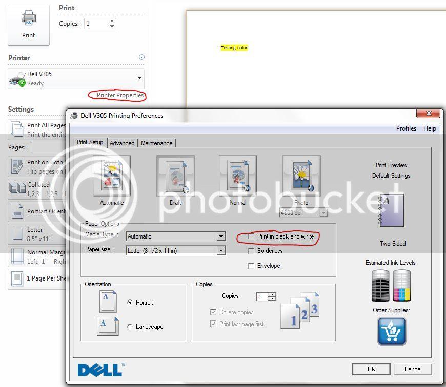 Dell V305 Printer User Guide - neoxlcom