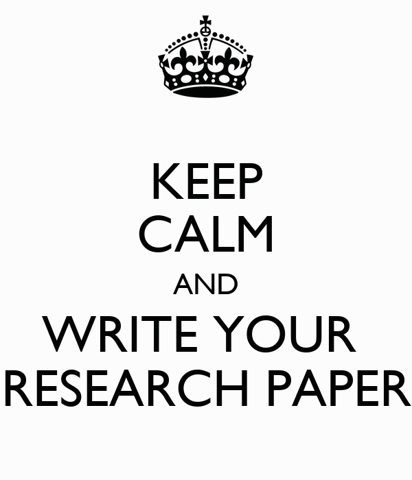 Write my research papers about