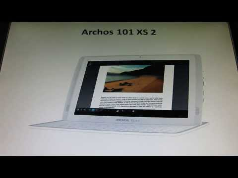 Manual archos 70d ereader