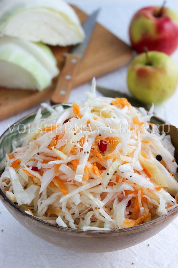 Рецепты капусты быстрого приготовления за сутки