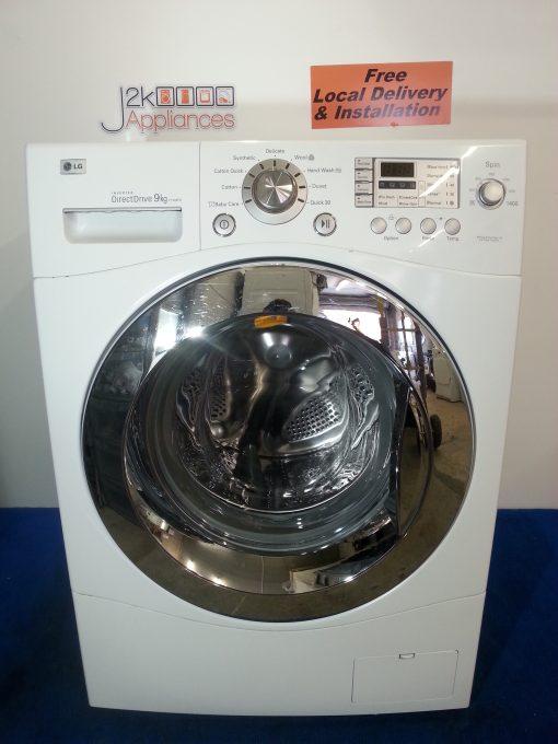 User manual LG direct drive washing machine