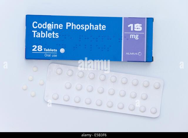 Codeine phosphate 30 mg used for
