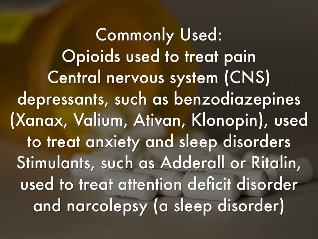Adderall central nervous system stimulant