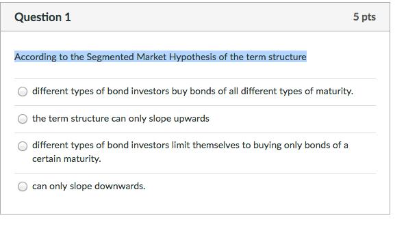 Market Segmentation Theory - World Finance
