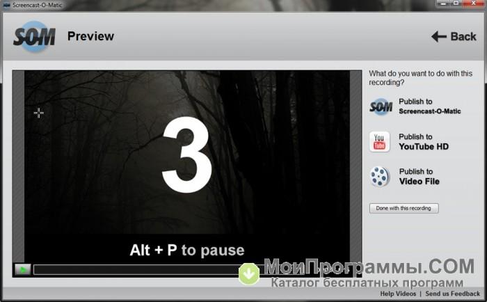 Tcharger Screencast-O-Matic - 01netcom