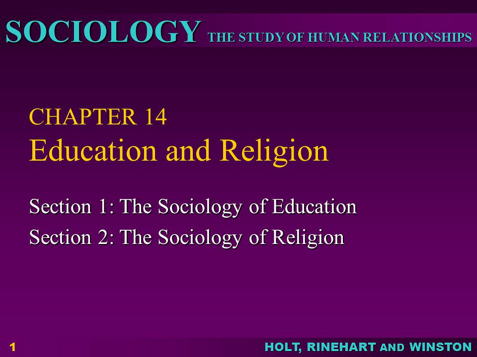 Religion and education essay