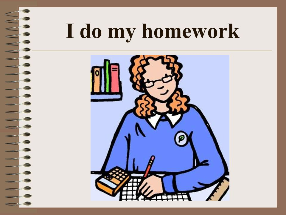 Write my homework helps