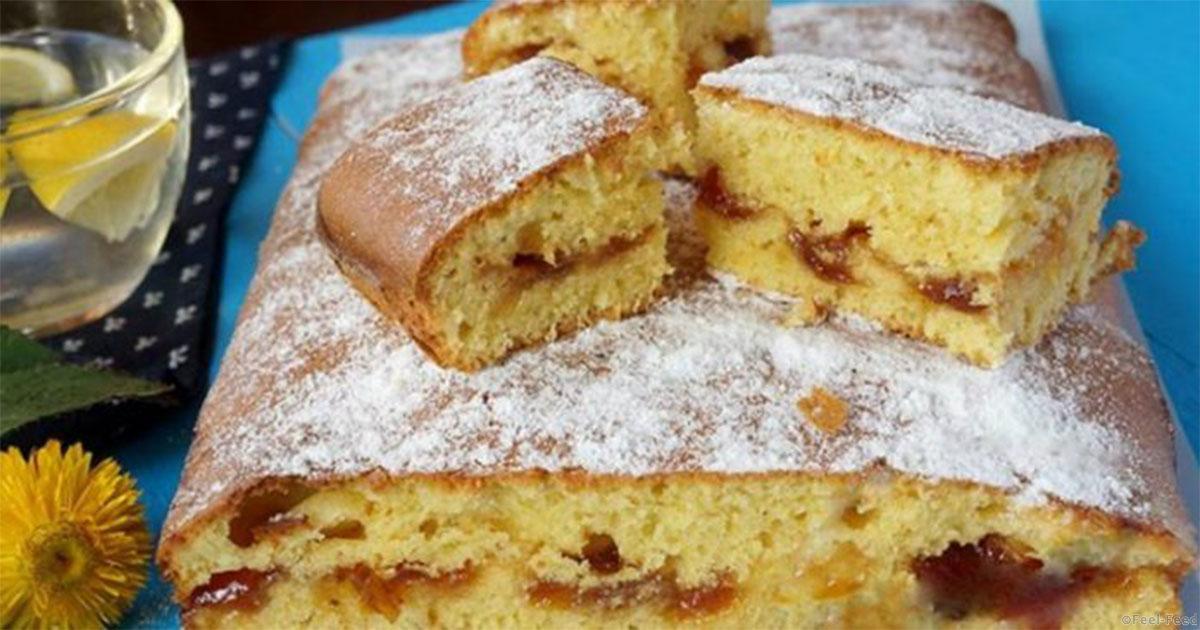Простой и быстрый рецепт пирога с вареньем в духовке с фото пошагово