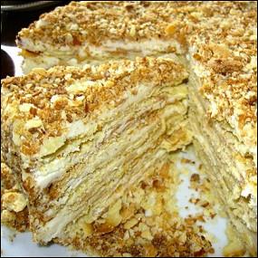 рецепты торта цезарь