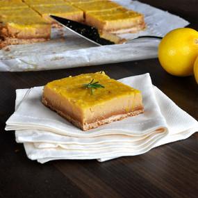 Лимоные палео-батончики