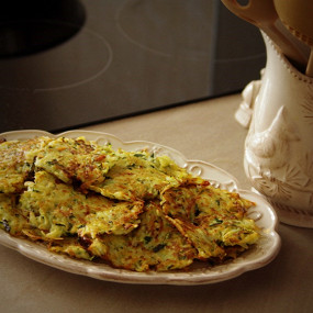 рецепты оладьев из кабачка