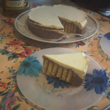 Рецепт Апельсиновый торт ссуфле избелого имолочного шоколада