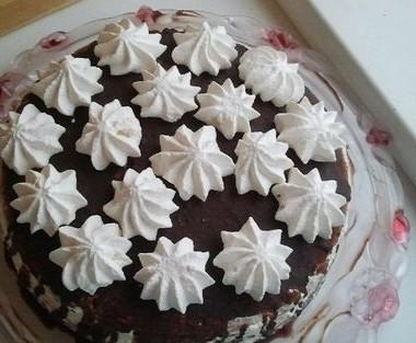 Рецепт Быстрый ореховый торт своздушным кремом