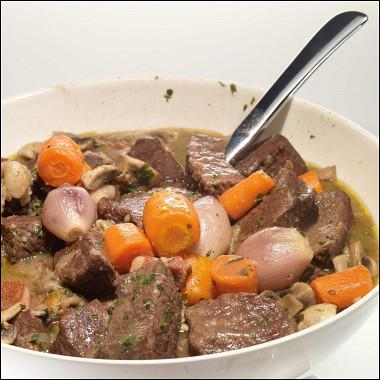 Рецепт Говядина по‑бургундски