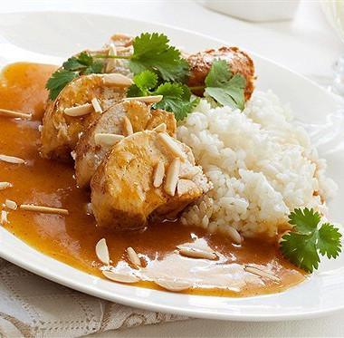 Рецепт Цыпленок сабрикосовым компотом