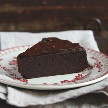Рецепт Шоколадный пирог сганашем