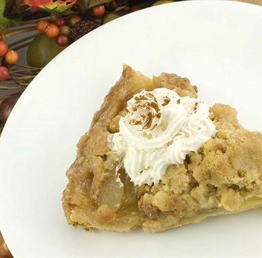Рецепт Быстрый яблочный пирог смедом