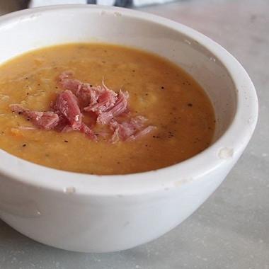 Рецепт Гороховый суп скопченым беконом