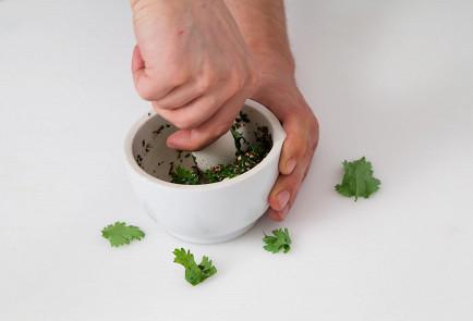 Фото приготовления рецепта: Ткемали из красной смородины - шаг 1