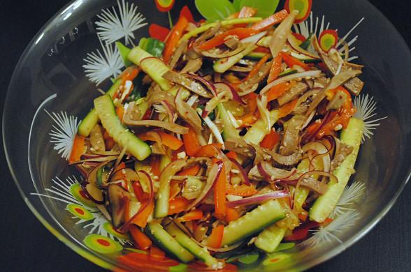 салат с языком рецепт с рузойкуку