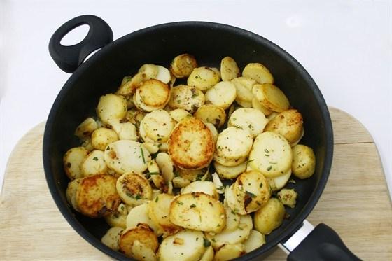Соте из картофеля
