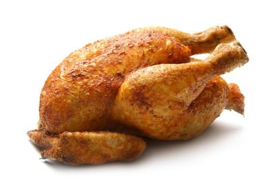 Курица гриль на водяной бане
