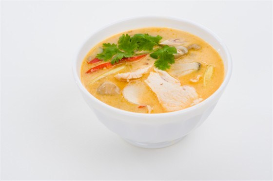 Куриный суп с кукурузой и паприкой