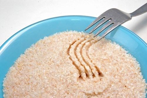 Каша из дробленой пшеничной крупы