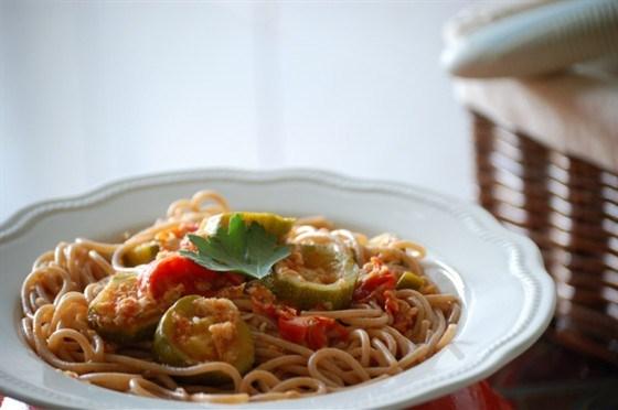 Летние макароны по-итальянски