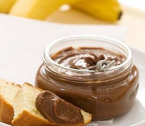 Шоколадно-банановая крем-паста