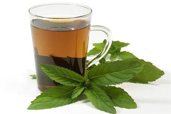 Мятный травяной чай