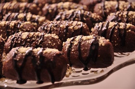 Пирожное «Картошка» с красным вином