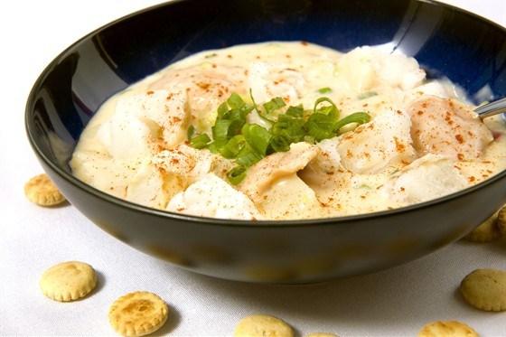 Рыба с шафраном и сливочным соусом