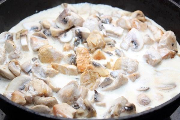 курица с грибами вкусный рецепт