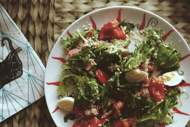 Салат с тунцом по-провански