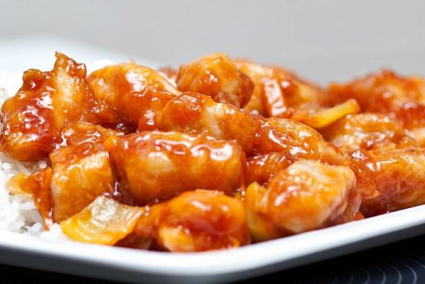 сладкая курица по китайски