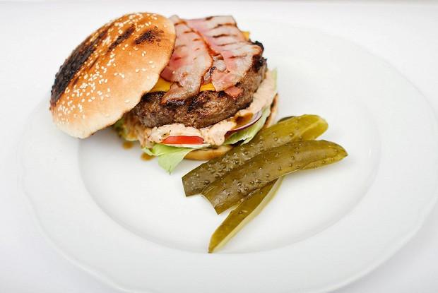Гамбургер «Скандинавия»