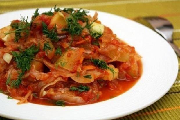 овощное рагу с картошкой кабачками и мясом рецепт