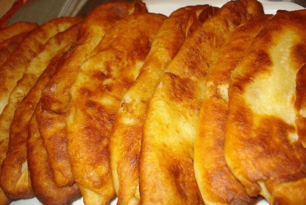 Пирожки с начинкой из картошки