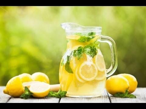 Домашний лимонад с лаймом