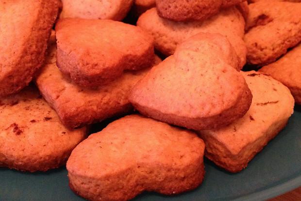 Имбирное печенье с корицей и мускатным орехом