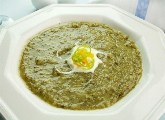 Суп долгой варки из сельдерея