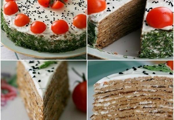 печеночный торт рецепт фото