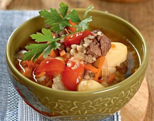 Бараний суп (Мастава)